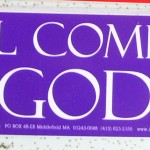 Bumper Sticker: We All Come From The Goddess