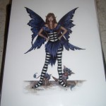 Amy Brown Print: Faerie Rude (retired, out of print)