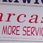 Bumper sticker: Sarcasm is just one more service we offer