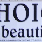 Bumper sticker: Choice what a beautiful right