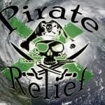 Pirate Relief Bumper Sticker (5″x4″)