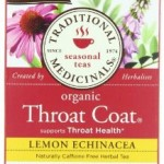 Traditional Medicine's: Throat Coat Tea. 16 packets.