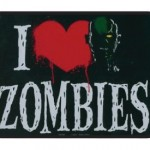I Heart Zombies / I Love Zombies – Die Cut Magnet