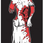 Zombie Family Cling sticker: Mom.