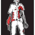 Zombie Family Cling sticker: Son (boy).