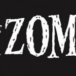 Flexible Auto bumper magnet: I love zombies / I heart zombies