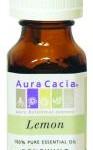 Aura Cacia Essential Oil: Lemon, .5 fl oz.