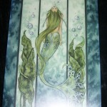 "Amy Brown Art Card: ""Liquid Jade"""