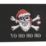 Yo Ho Ho Ho – 12″ x 18″ Pirate Santa Flag