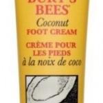 Burt's Bees – Foot Cream with Vitamin E Coconut, .75 oz travel size – mini