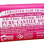 Dr. Bronner's Organic Bar Soaps: Pure Castile  All-One Hemp Rose Soap