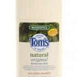 Tom's of Maine Natural Deodorant Aluminum Free Mine Woodspice