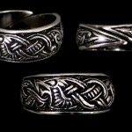JD-AD26 Dragon Ring Large Silver