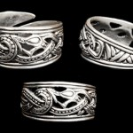 JD-AD32 Openwork Dragon Ring Large