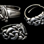 JD-AD25 – Urnes Dragon Ring – Silver