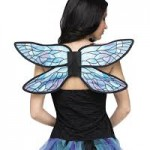 Blue Watercolor Wings – Spirit Design, One Size Fits Most