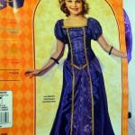 Renaissance Faire : Purple Princess Costume, Small US Size 4-6 (Age 3-4)