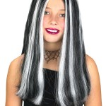 Streaked Witch Child Wig