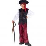 Fun World Caribbean Pirate Kids Costume Small (4-6)